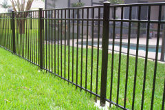 Aluminum Fences Chicago Metal Fencing Illinois Iron Gate 60602 intended for size 2304 X 1728